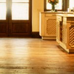 Antique wood floors.