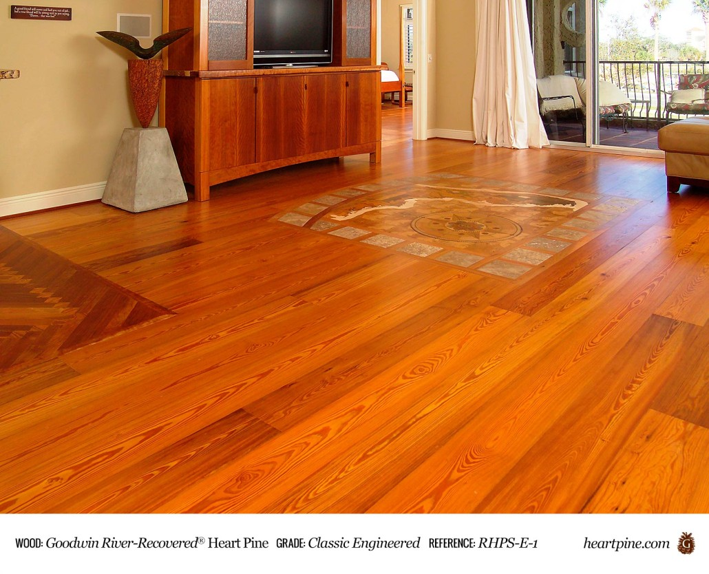 Goodwin Heart Pine Reclaimed Wood Floors At Through The