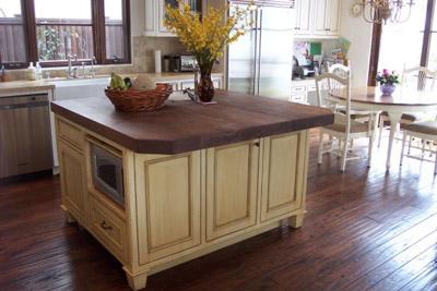 Distressed Wood Floor