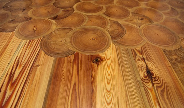 Goodwin hardwood flooring - Goodwin Heart Pine Reclaimed Wood Floors At Through The Woods In