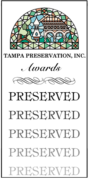 Tampa Preservation Award