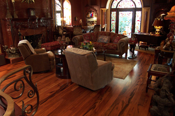 Tigerwood Flooring Tampa Installation By Through The Woods